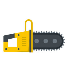 Chainsaw icon isolated vector
