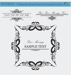 design elements copy vector image