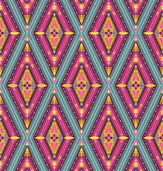 Hipster seamless colorful tribal pattern vector