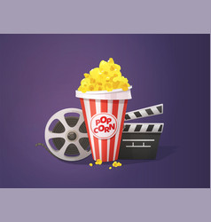 Movie cinema concept vector