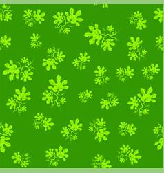 Summer leaves seamless pattern vector