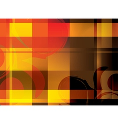 abstract bright background with crossed lines vector image vector image