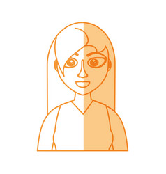 Female woman adult young vector