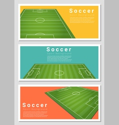 Set of football field graphic background 2 vector