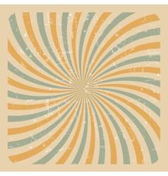 Abstract Grunge Sunburst Background vector