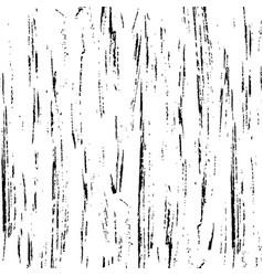 Background texture black brush strokes on white vector