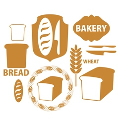 Bakery Bread Wheat vector