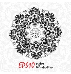 Beautiful Decor Mandala Abstract Object vector
