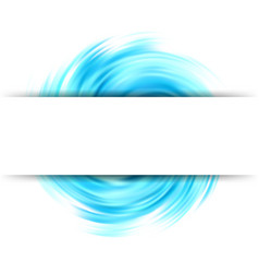 colorful abstract swirl background wave vector image