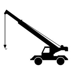 crane icon vector image