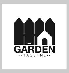 Fence logo concept vector