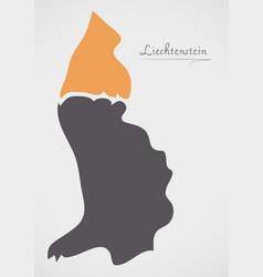 Liechtenstein map with states vector