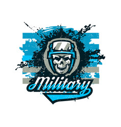 On a military theme soldier vector