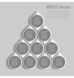 plashka round vector image vector image