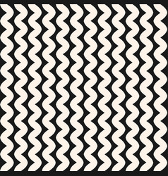 vertical wavy lines seamless pattern minimalist vector image