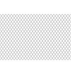 wire fence pattern seamless steel texture vector image