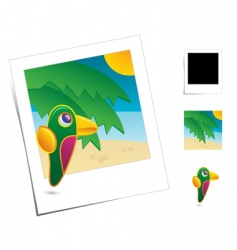 animal scene vector image vector image