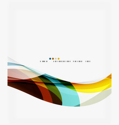 business wave corporate background vector image