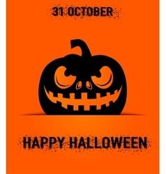 happy halloween greeting vector image vector image