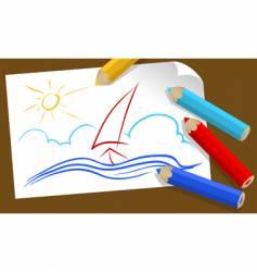 drawing vector image