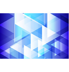Blue geometry abstract background vector