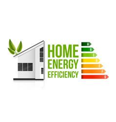 Creative of home energy vector