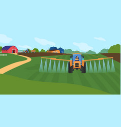 Farming agriculture cartoon vector