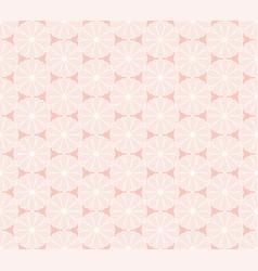 japanese kiku chrysanthemum floral seamless vector image
