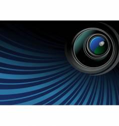 Photo objective vector