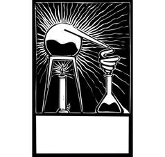 Science lab vector