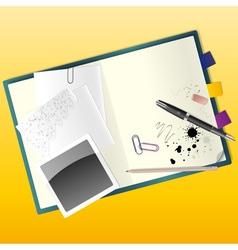 Sketchbook vector