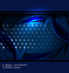 usa texture background vector image vector image