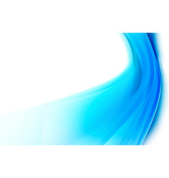 abstract background smooth blue curve and blend vector image