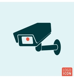 CCTV icon isolated vector