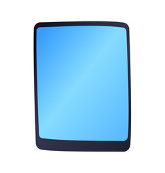 Computer tablet technology isolated display vector