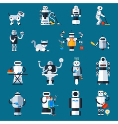 Home Robots Collection vector