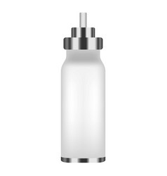 inhaler spray bottle icon realistic style vector image