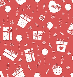 New Year party pattern 3 vector