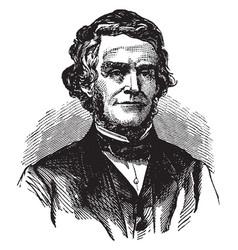 William dennison vintage vector