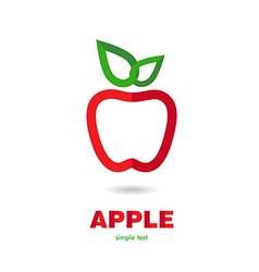 AppleR vector image vector image