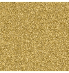 Golden glitter texture background EPS 10 vector image vector image