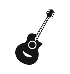 Classical guitar icon simple style vector image vector image