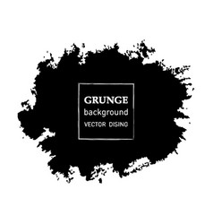 grunge banner abstract template vector image