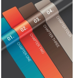 Modern Design template vector image vector image