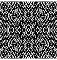 Pattern with hand painted lines vector image vector image