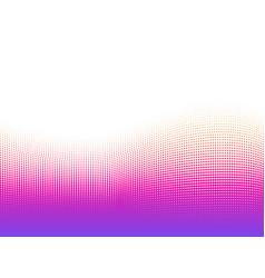 abstract dots vivid gradients background halftone vector image