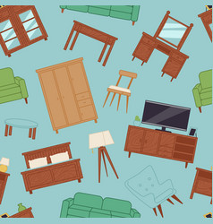 furniture interior home design modern living room vector image