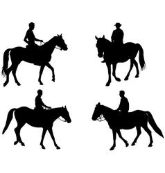 Horsemen vector