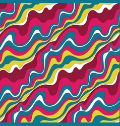 psychedelic waves vector image