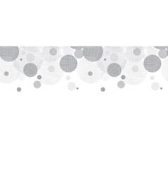 Silver Grey Circles Dots Horizontal vector